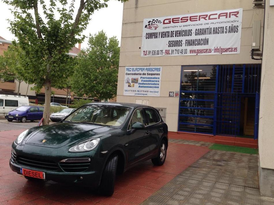 Taller mecánico Gesercar en Las Rozas, Madrid