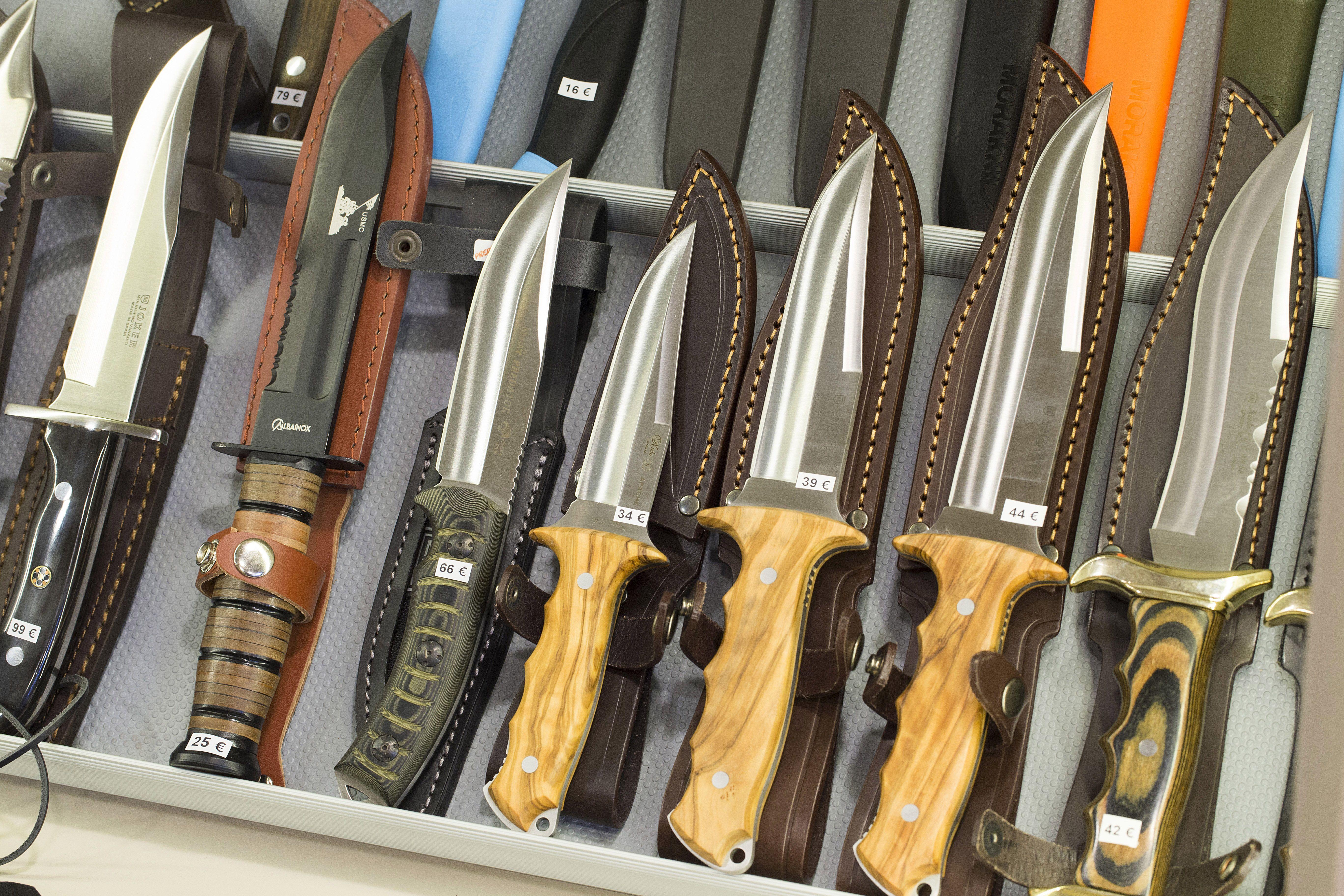 Cuchillos y navajas de lujo en Zaragoza