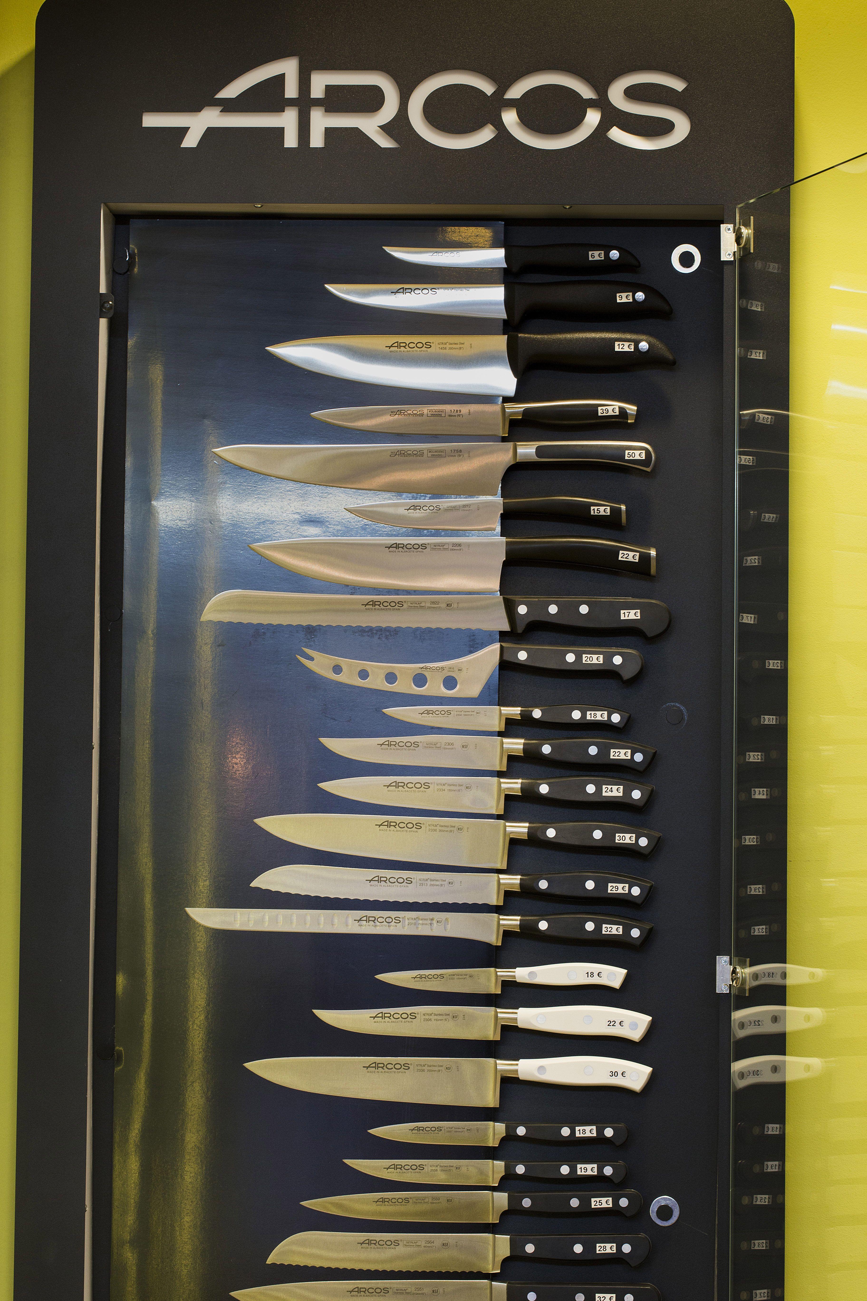 Cuchillos para cocineros profesionales en Zaragoza