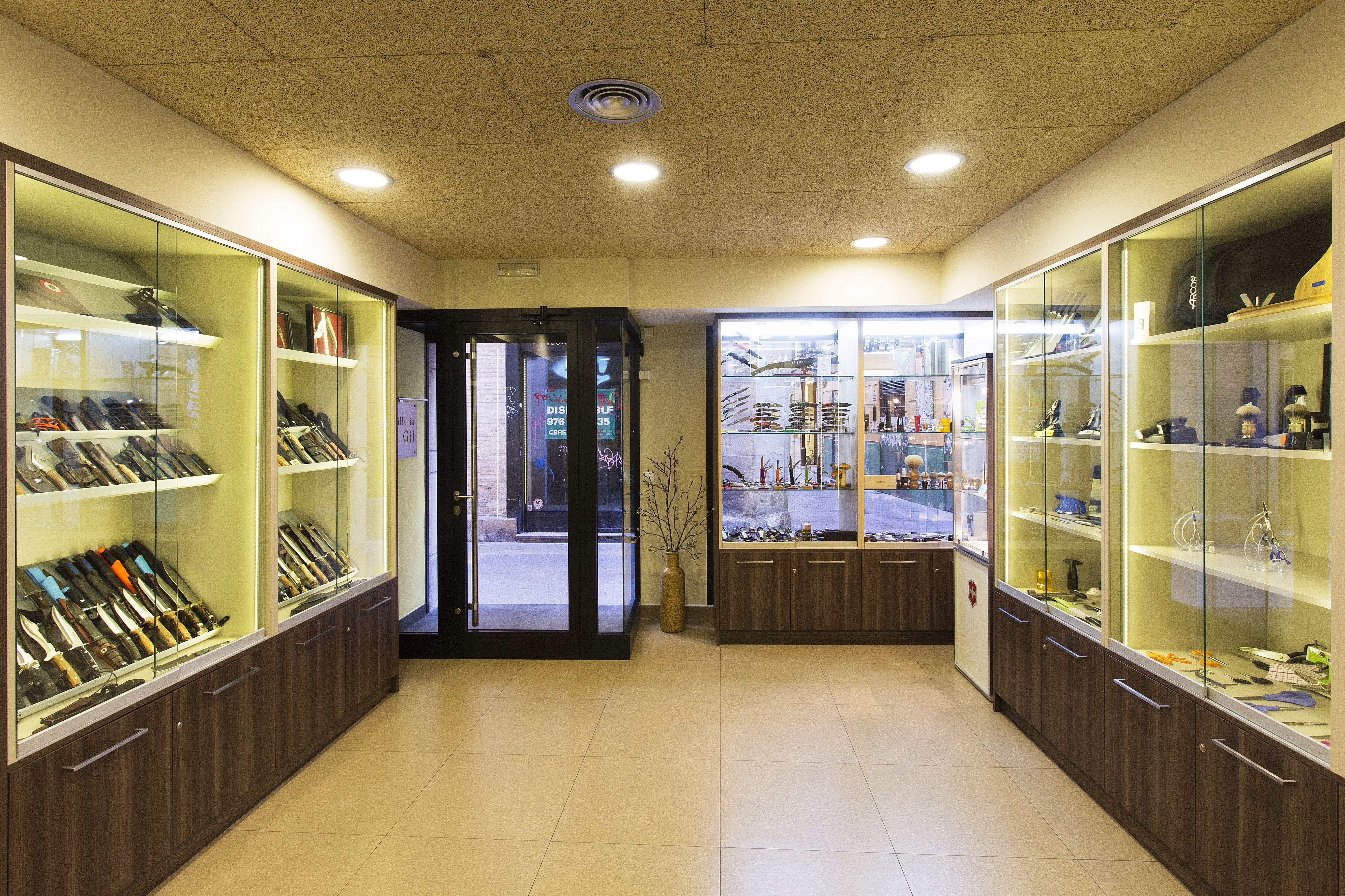 Tienda especializada en la venta y el afilado de cuchillos en Zaragoza