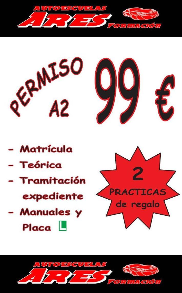 PROMOCIÓN 2017 PERMISO A2