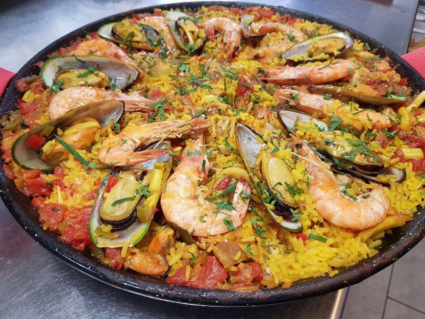 La mejor paella de Lanzarote en La Flamenca