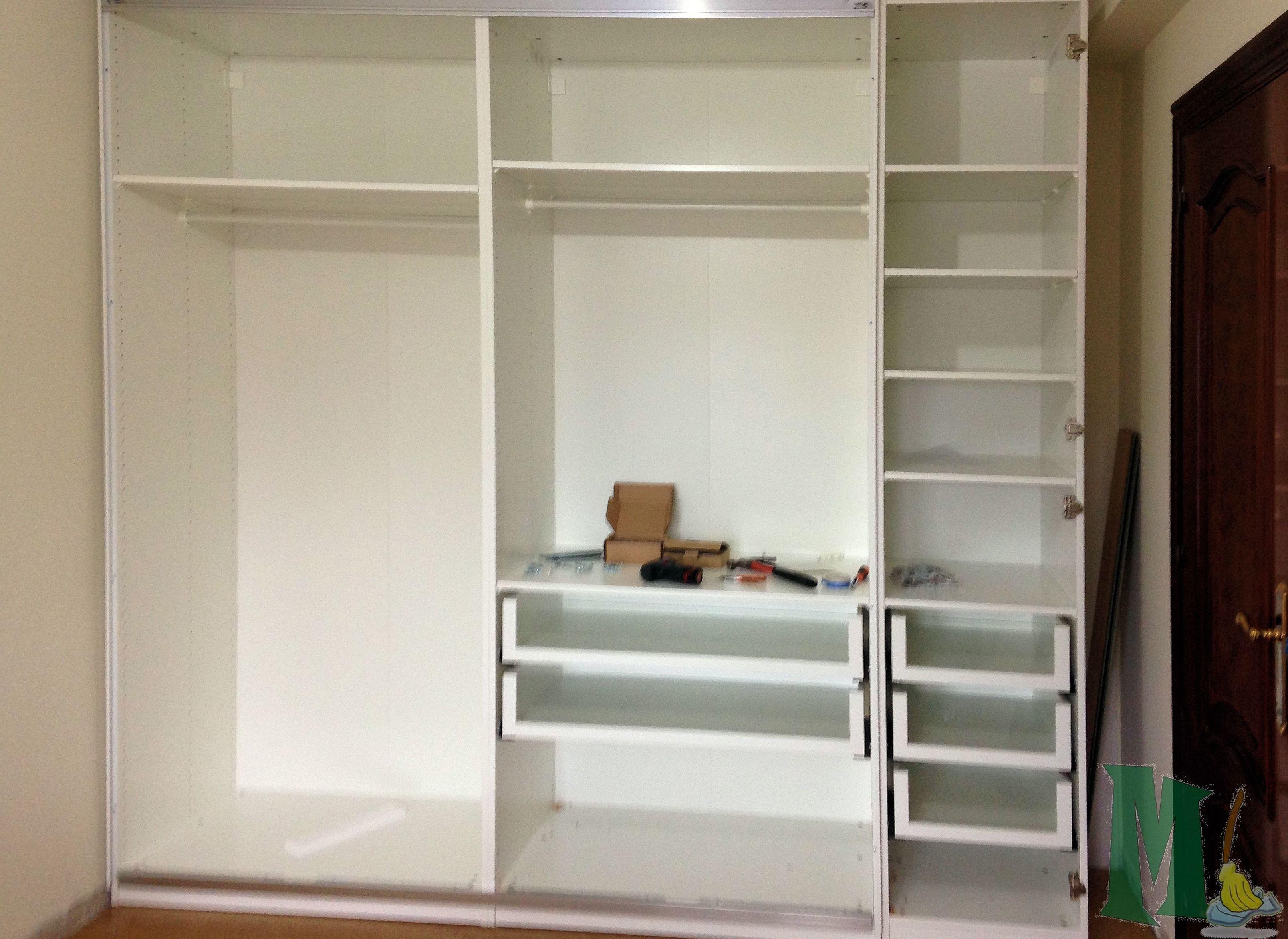 Montaje de armario de Ikea