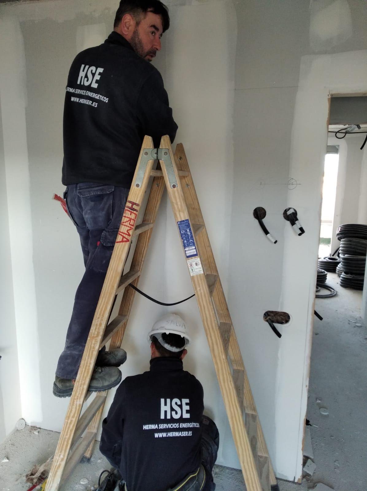 Foto 3 de Instalaciones eléctricas en  | Herma Servicios