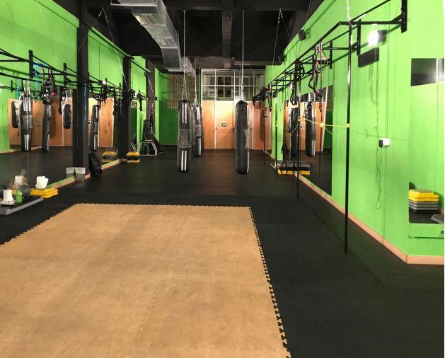 Creación sala boxeo en Vitoria