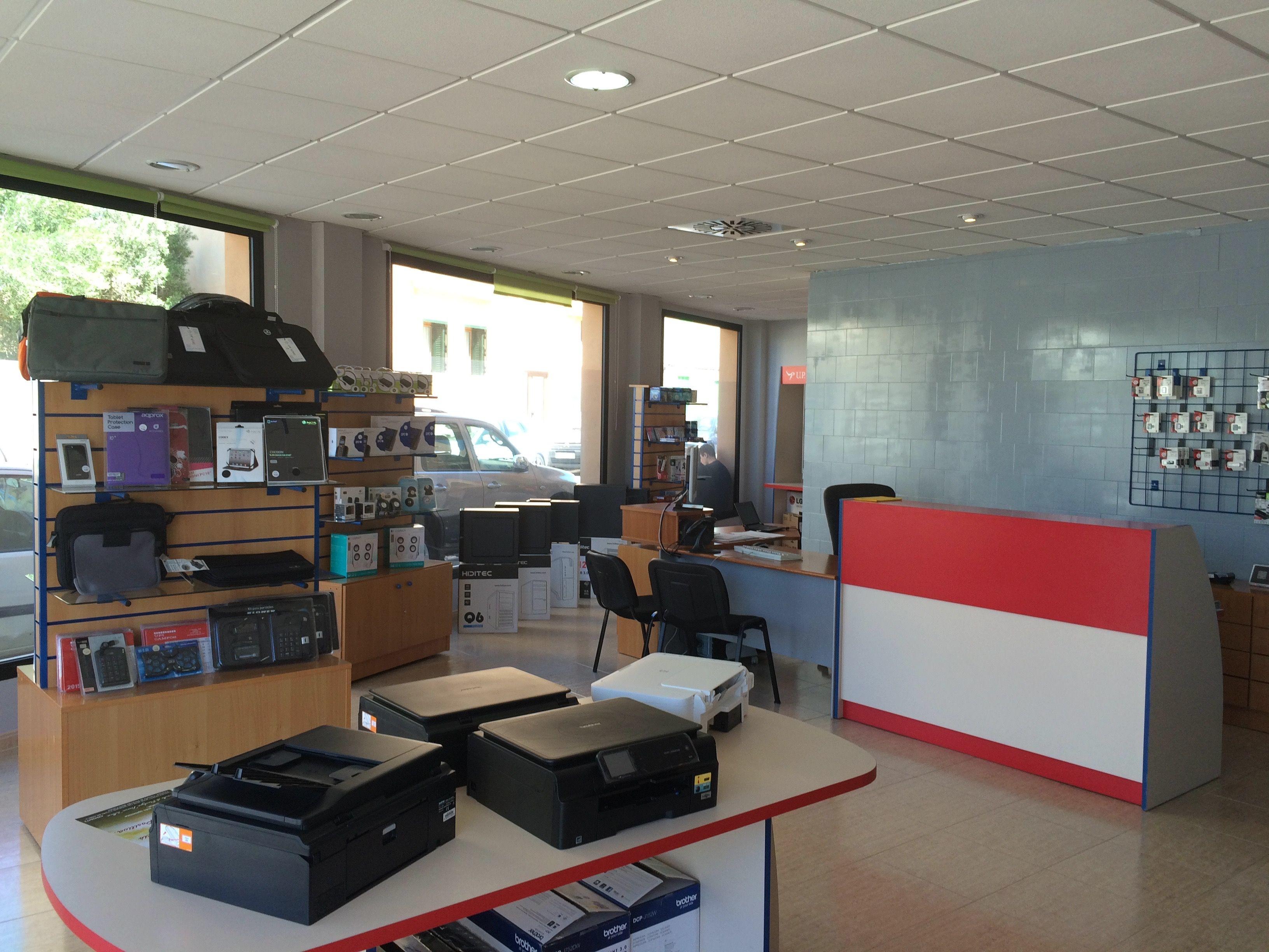 Venta y reparación de ordenadores en Campos