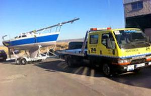 Transporte de velero