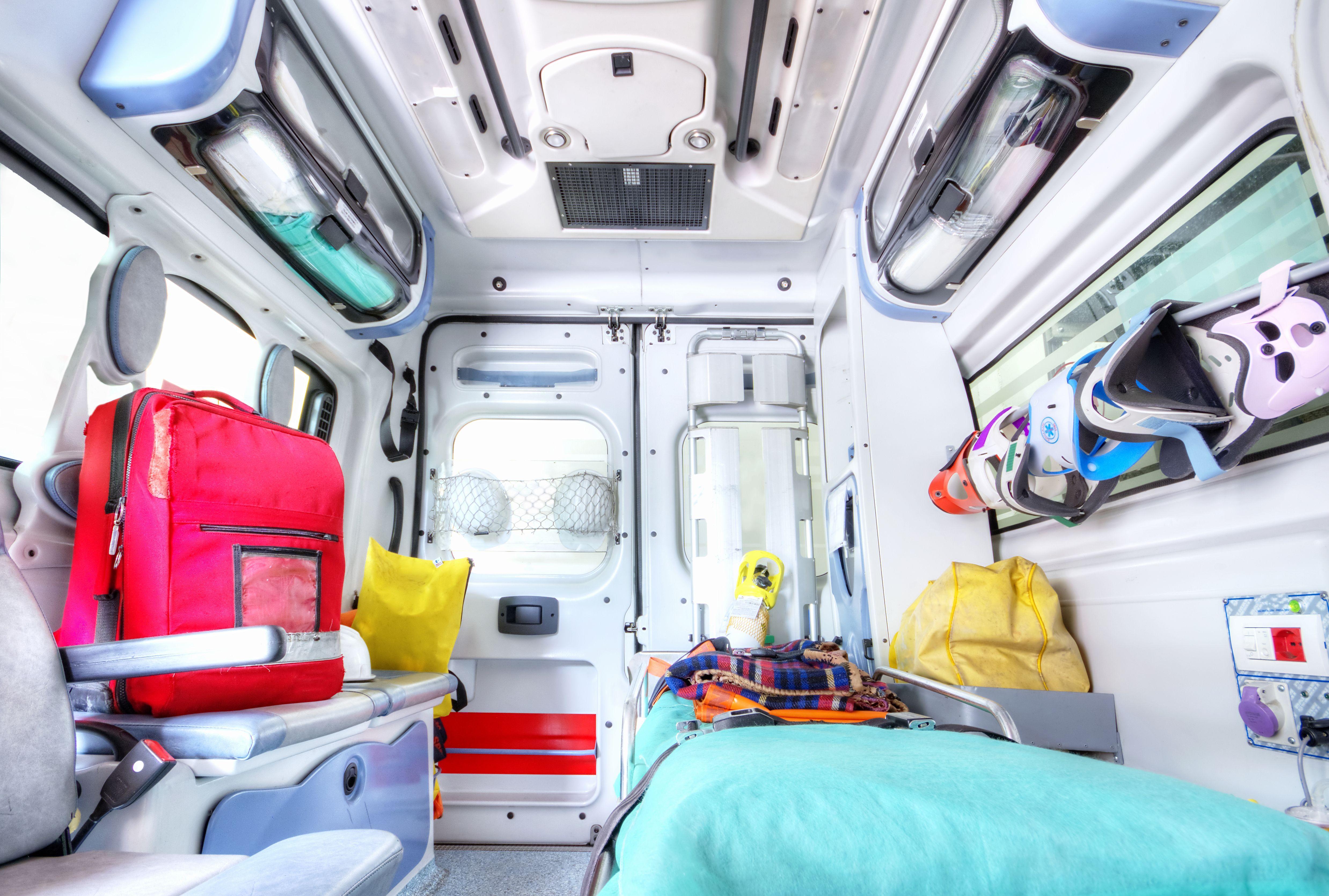 Ambulancias completamente equipadas en Murcia