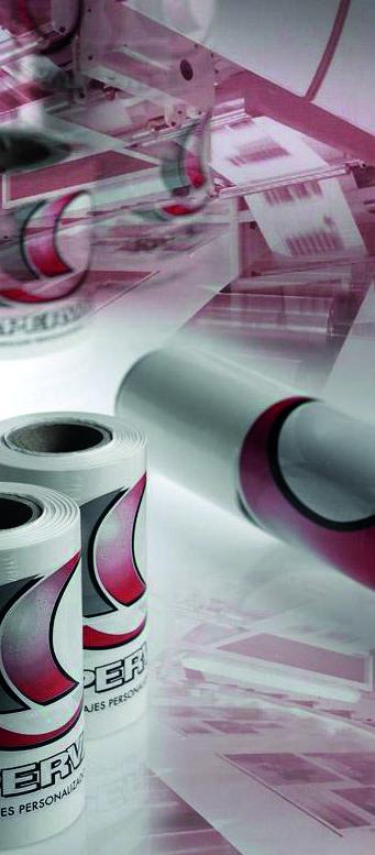 Film estirable impreso : Productos   de Paperval Plastics