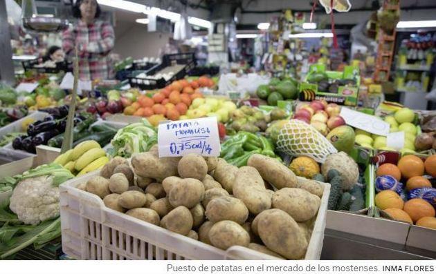 ¿Qué subió y qué bajó en 2018? Las Patatas mucho más caras que un año antes