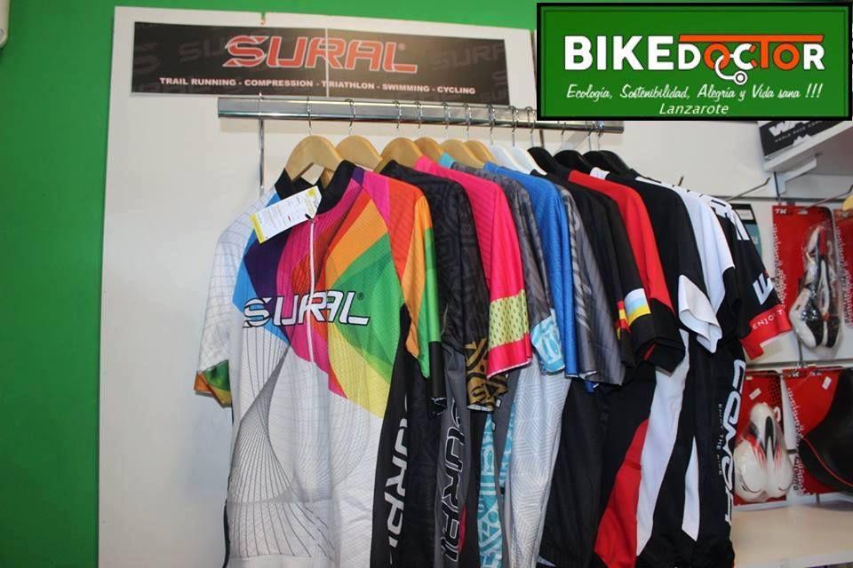 Supplements: Our bicycles de Bike Doctor Lanzarote