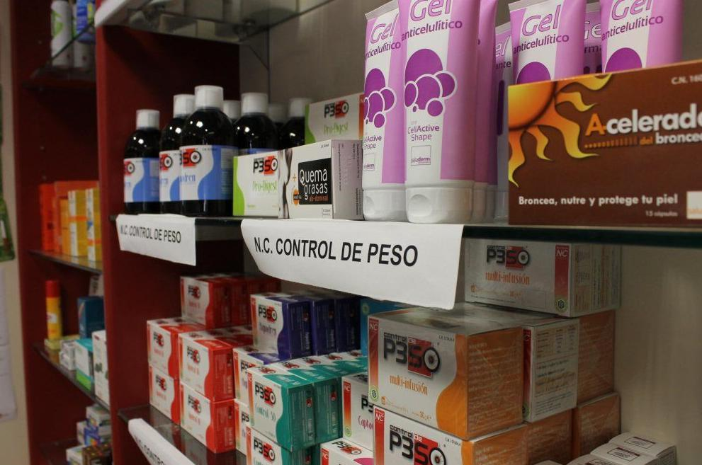 Productos para el control del peso