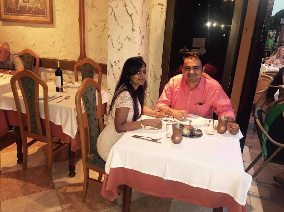 Cena romántica en nuestro restaurante