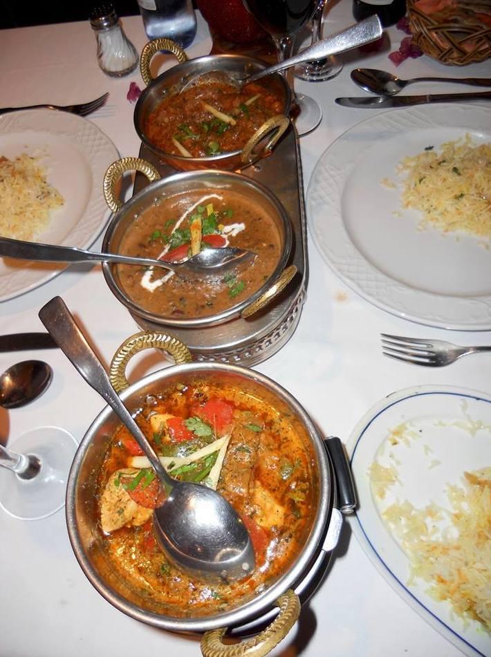 Comida tradicional india