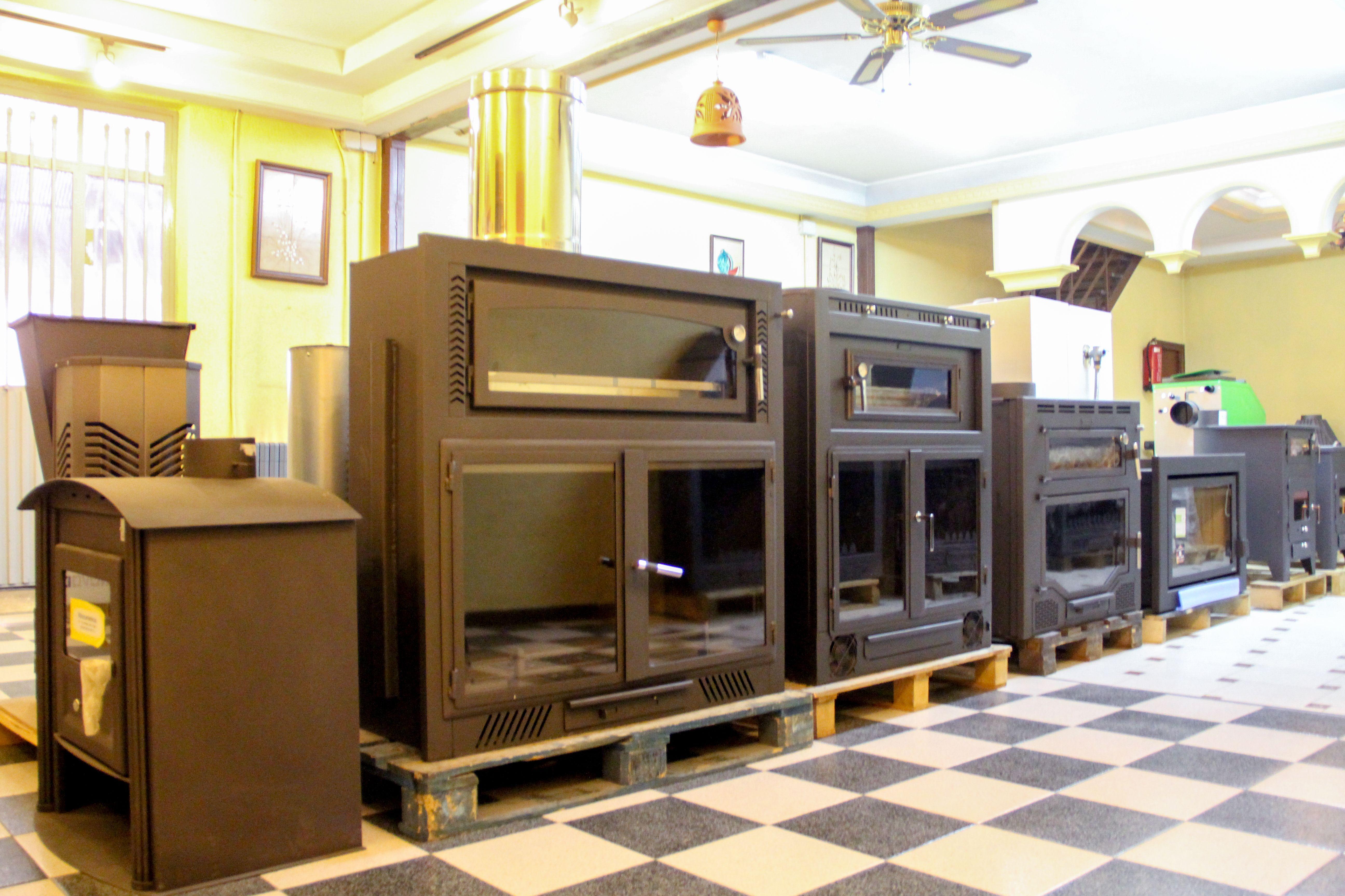Especialistas en estufas y pavimentos en Madridejos, Toledo