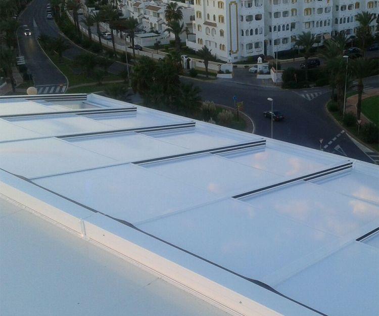 Techo de cristal en Málaga