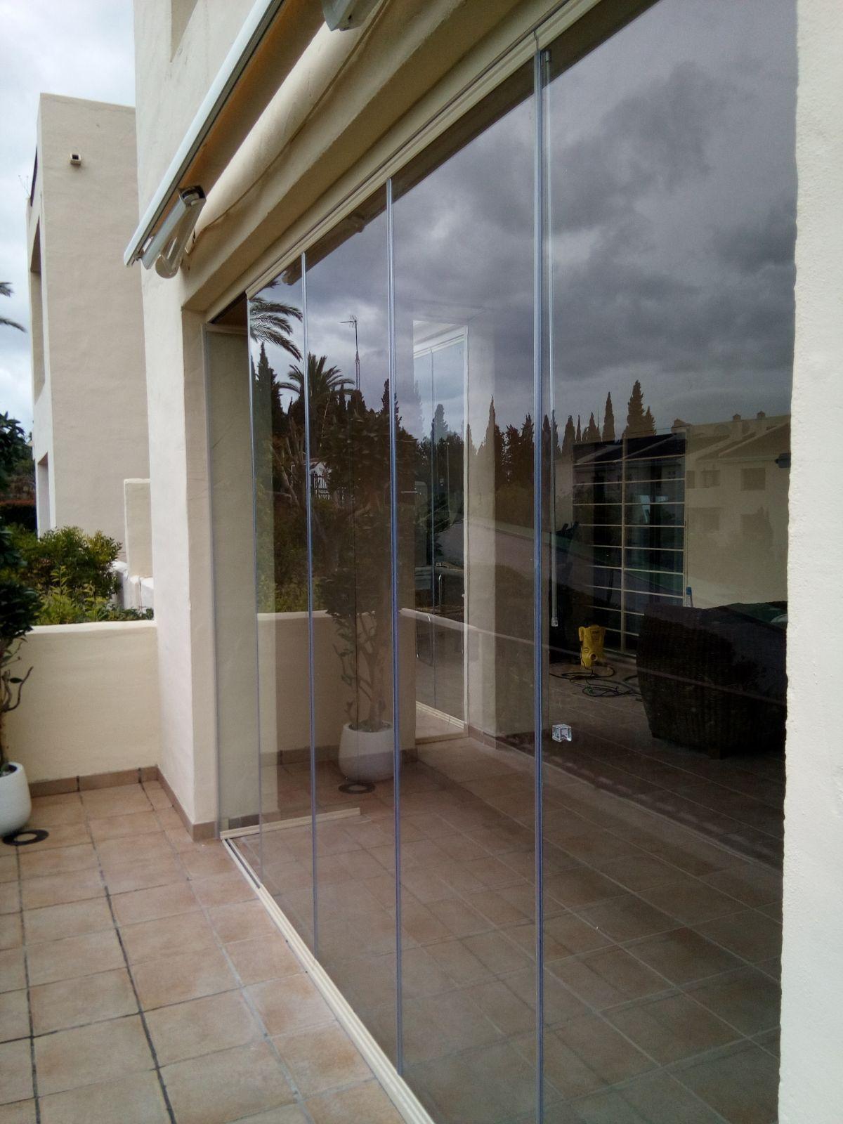 Cortinas de cristal en Granada