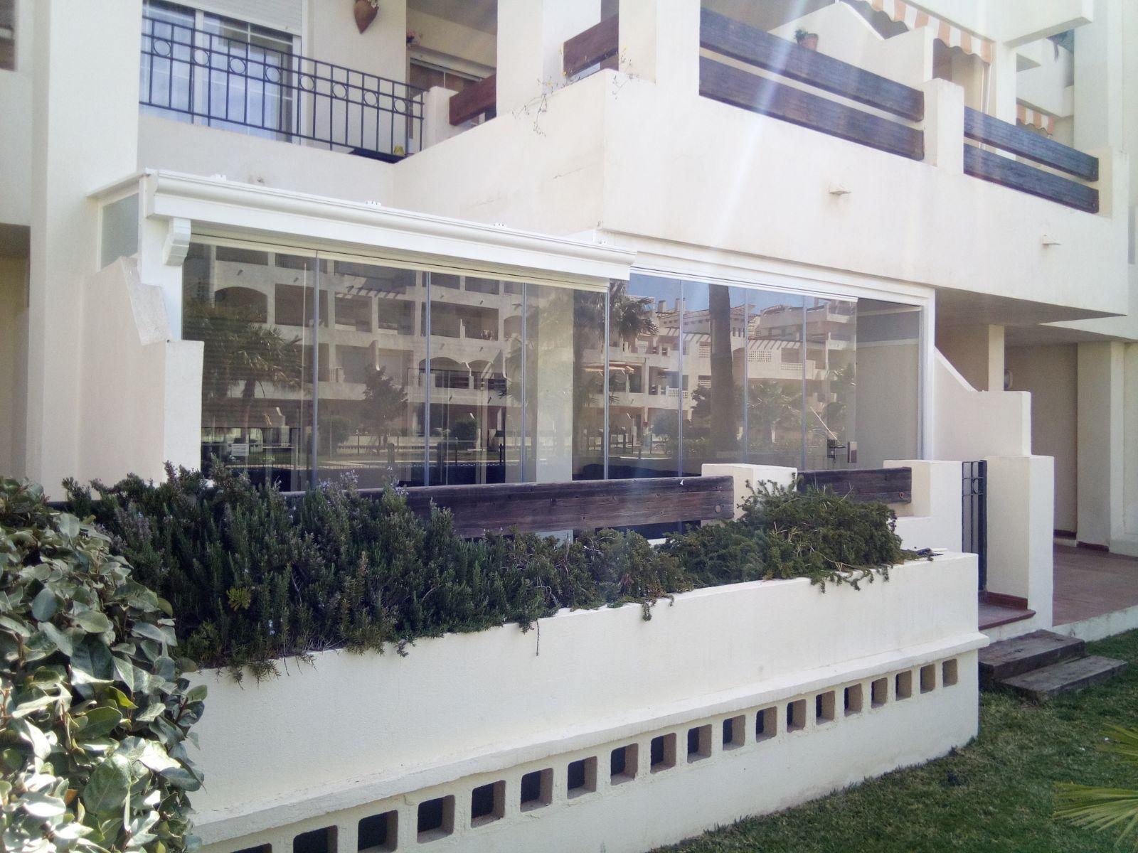 Acristalamiento de terrazas en Almería