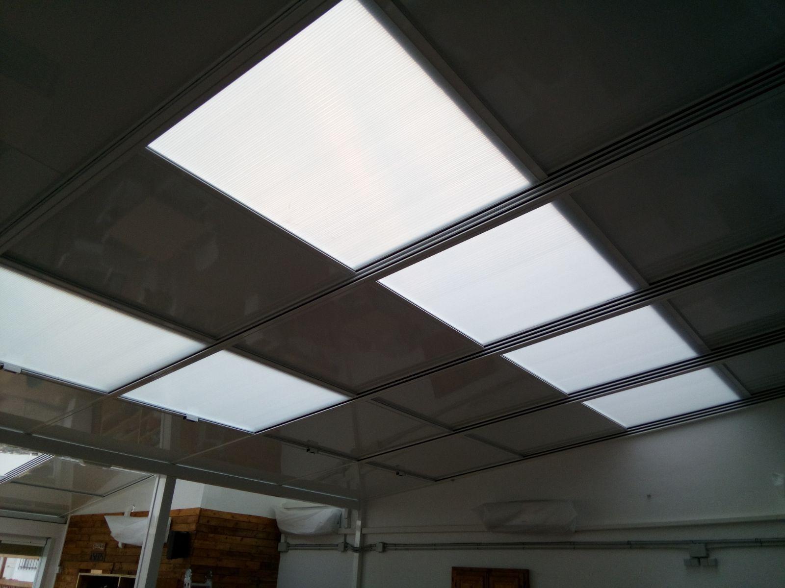 Instalación de techos fijos o movibles en Almería
