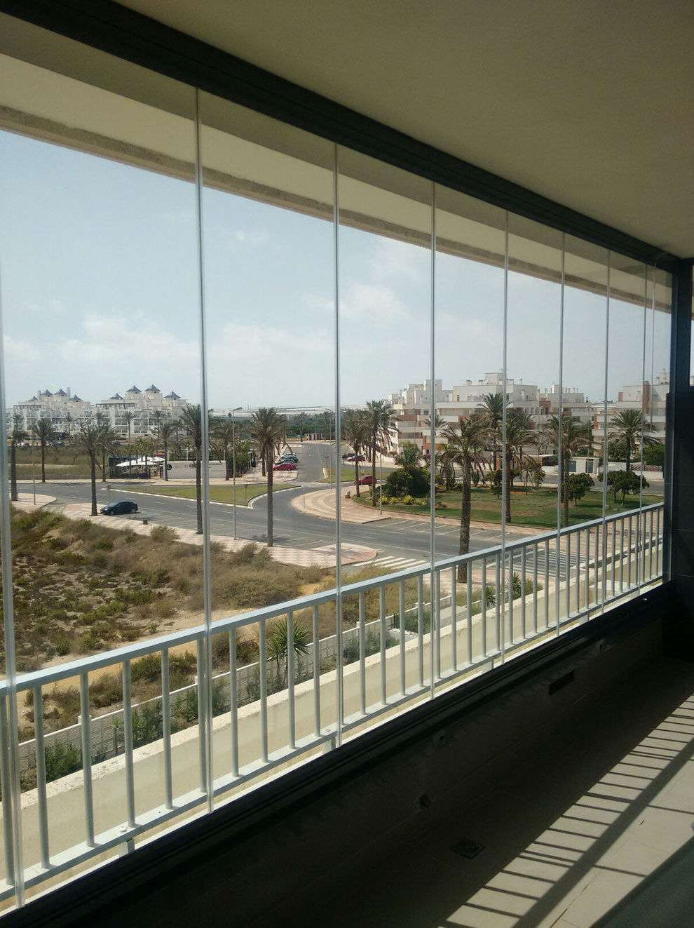 Cortinas de cristal en Almería