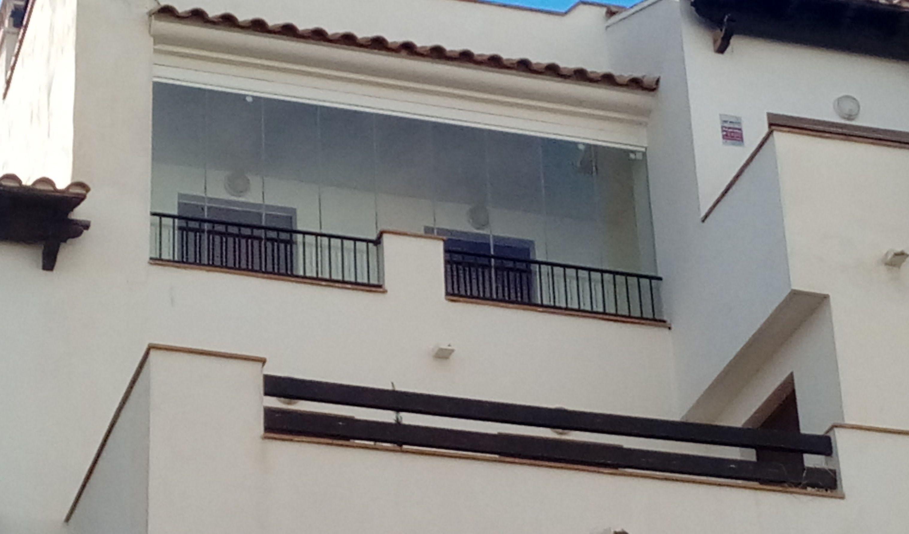 Terrazas cerradas con cristal en Almería