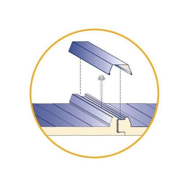 Remates fachada teja y cubierta: Productos y servicios de Rafel Panel