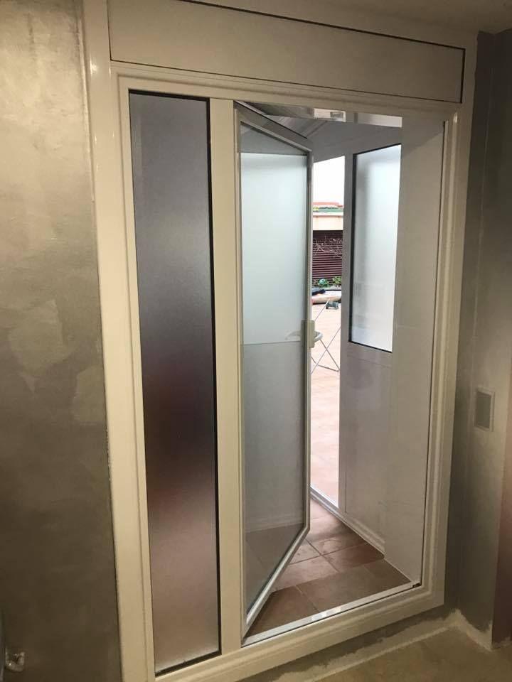 Instalación de puertas de aluminio en Santa Coloma de Gramenet