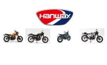 Motos de la marca Hanway