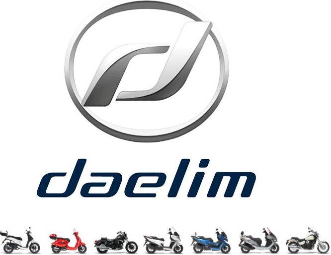 Motos de la marca Daelim