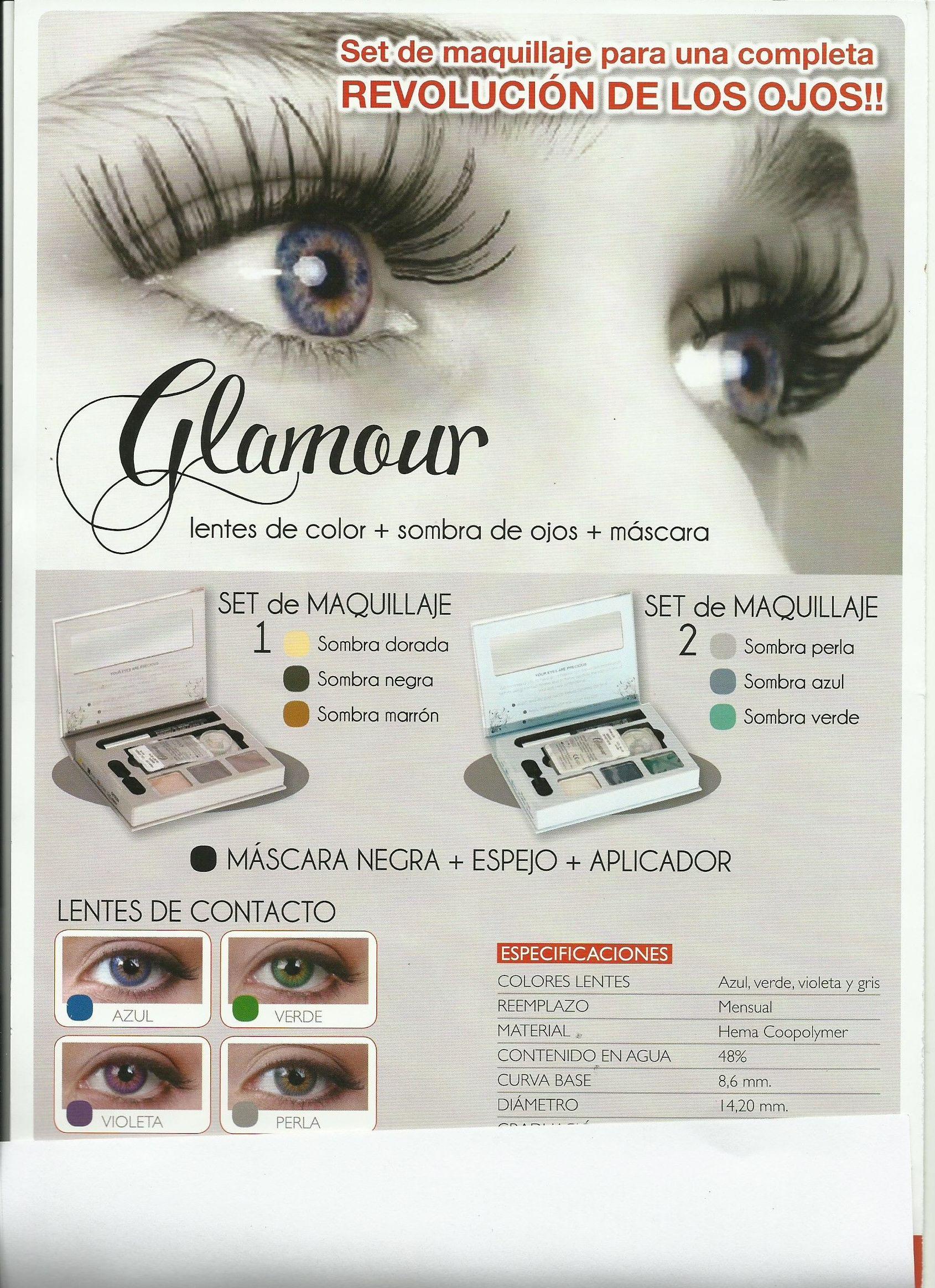 Venta de productos de cosmética y lentes de color en Esplugues de Llobregat, Barcelona