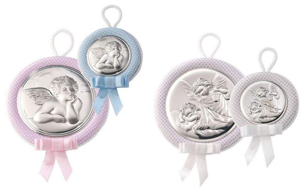 Medallas de plata para bebé