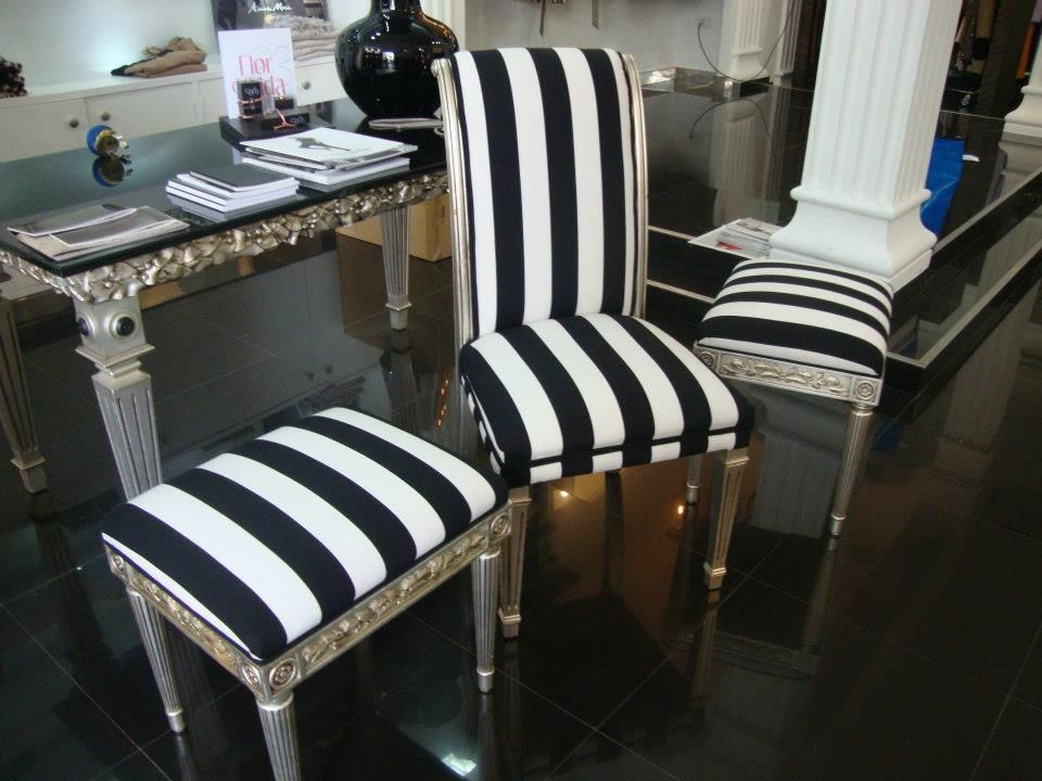 Tapizado de sillas y taburetes en Castellón