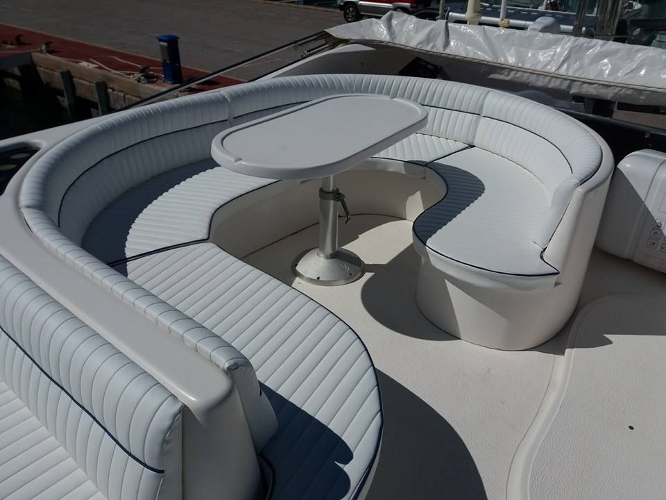 Tapicería de asientos, fundas y colchonetas para barcos en Castellón