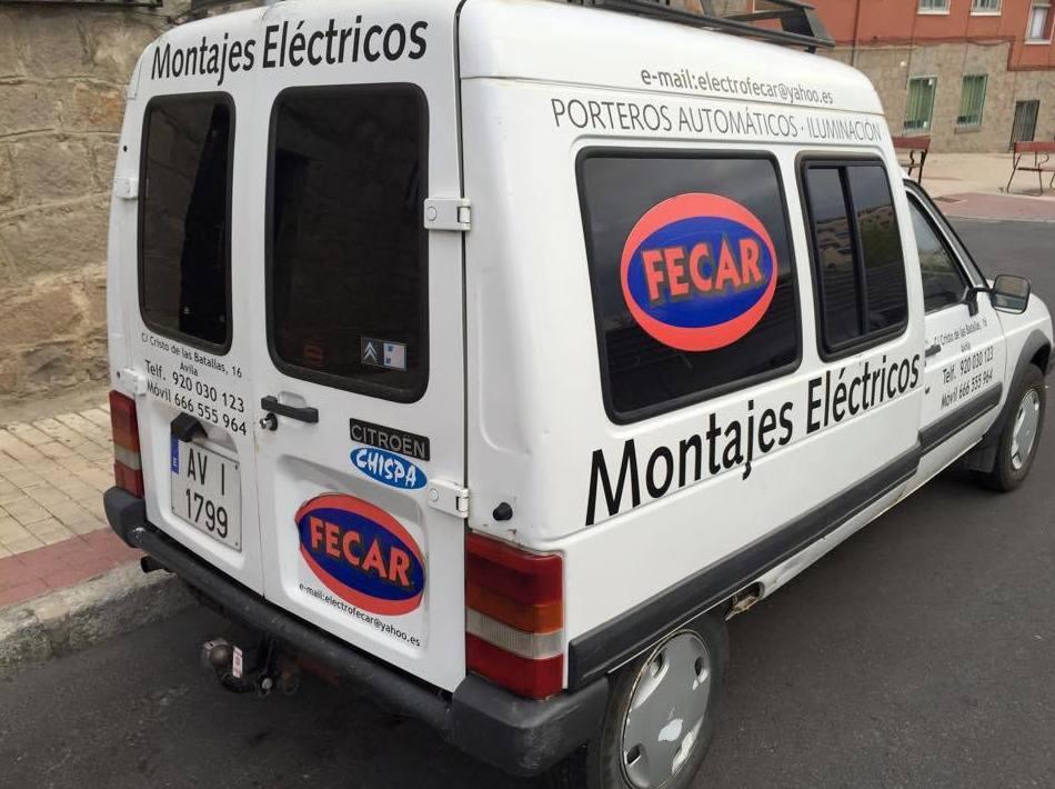 Montajes eléctricos en Ávila