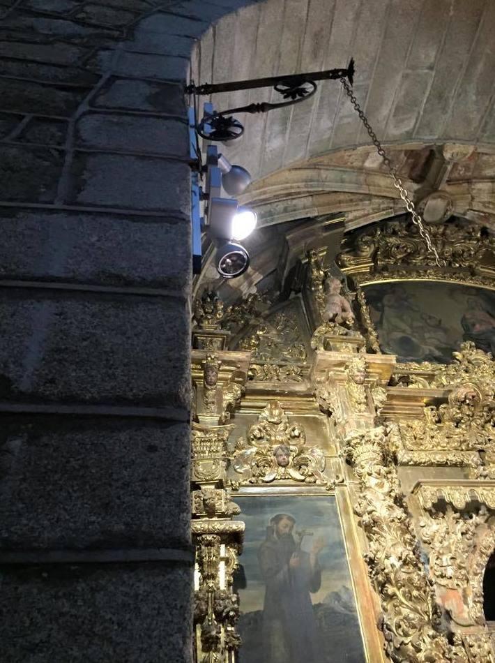 Proyecto de iluminación de una iglesia