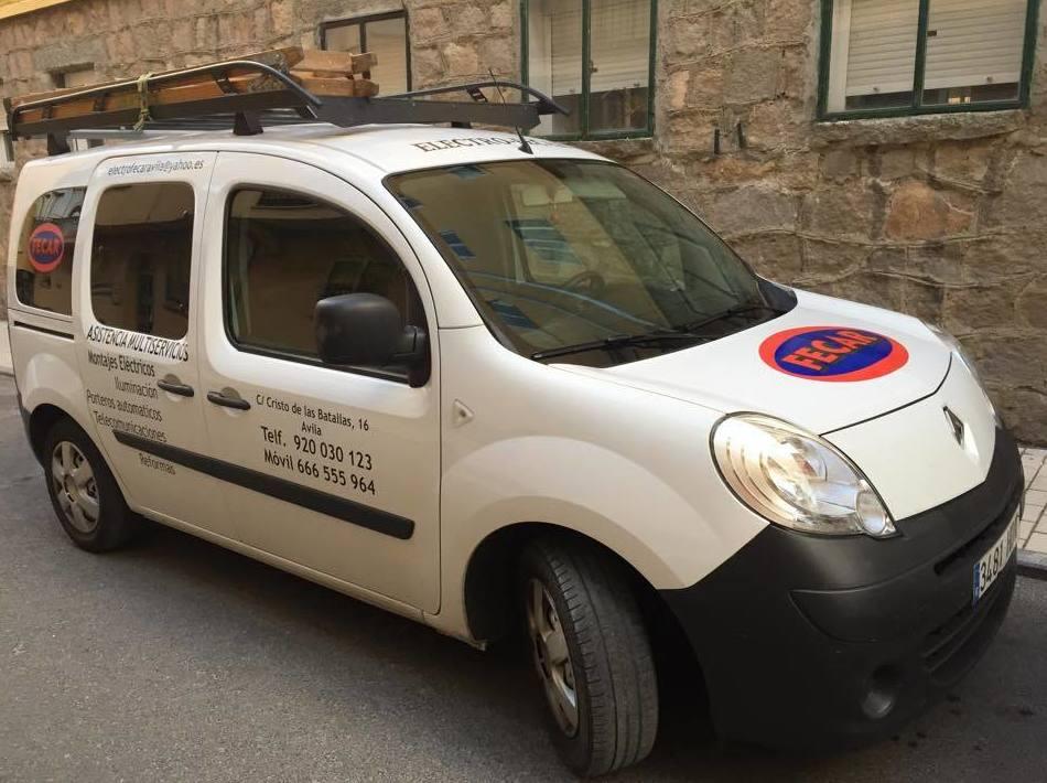 Fecar, instalaciones eléctrica en Ávila
