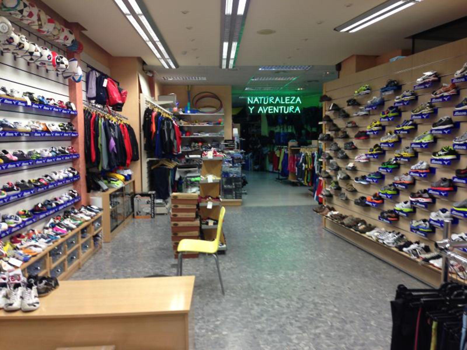 Tienda de deporte en Valladolid
