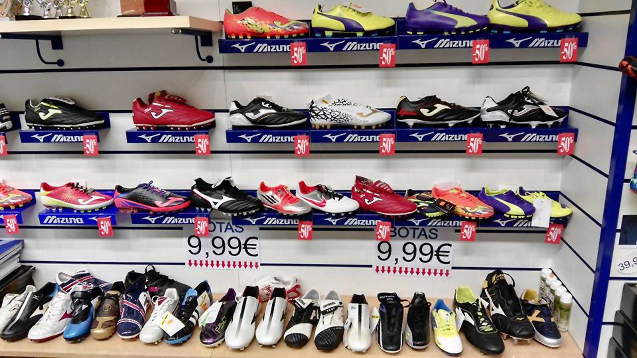Tienda de zapatillas deportivas en Valladolid