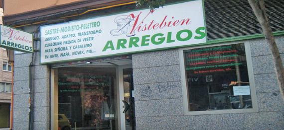 Foto 1 de Arreglos de ropa y piel en Zaragoza | Arreglos Vistebién