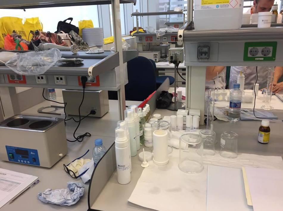 Laboratorio para realizar las fórmulas magistrales