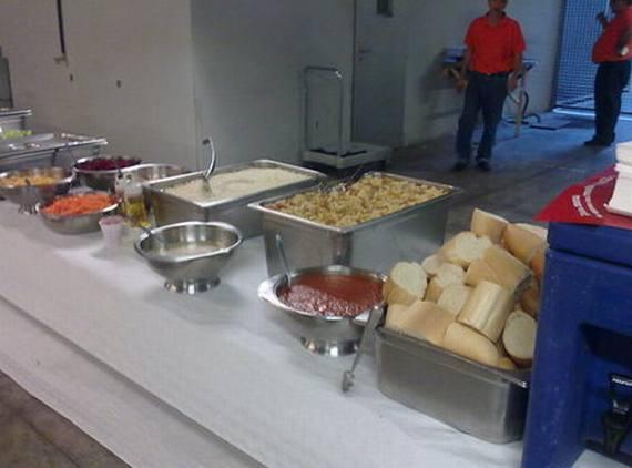 Catering en el Palacio de Deportes de Madrid