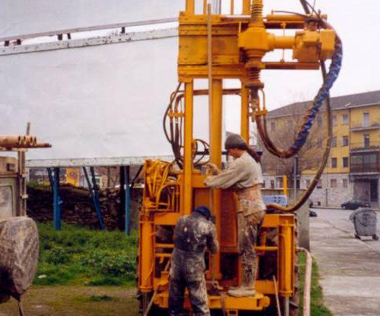 Reconocimientos del suelo, inyecciones y recalces en Asturias