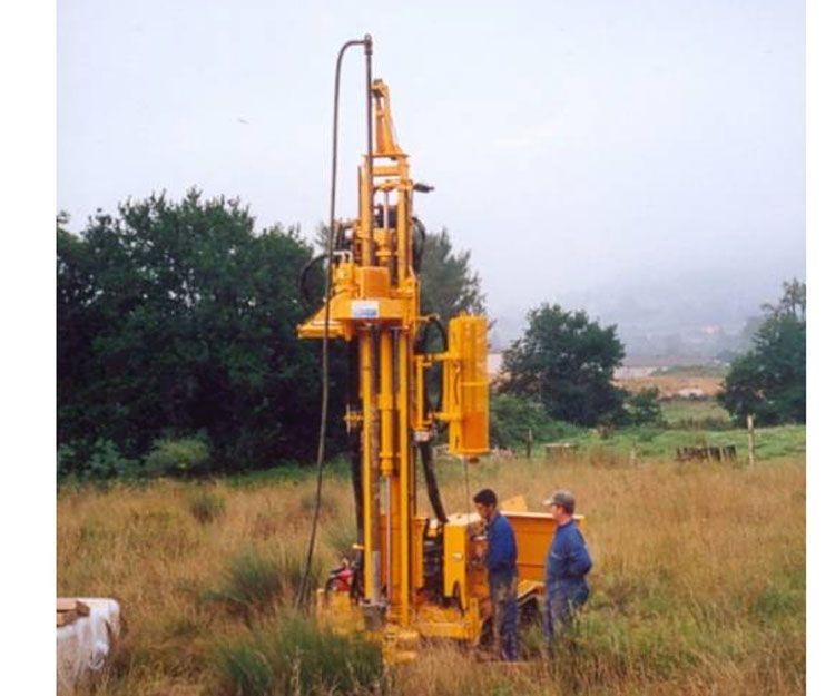 Realización de pozos de agua en Asturias