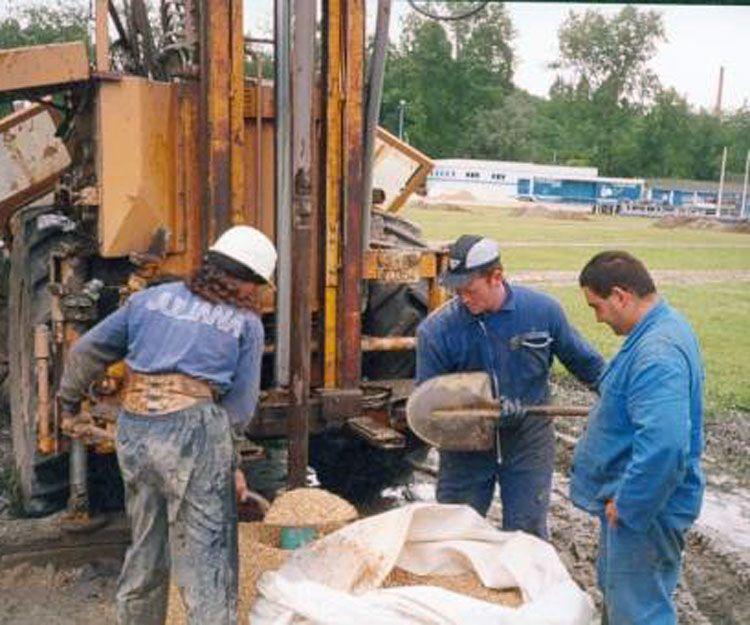 Instalación de sondas geotérmicas en Asturias