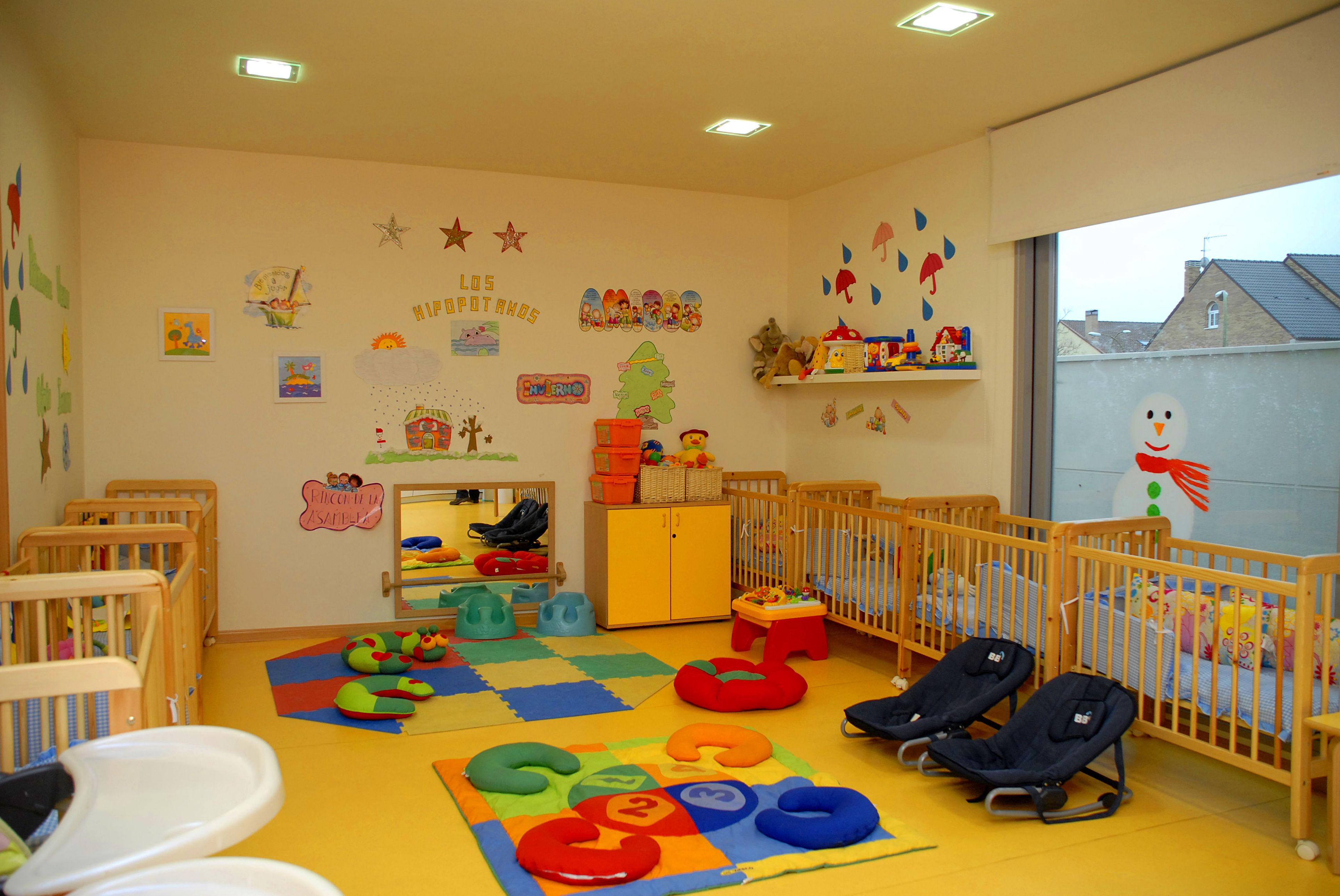 Escuela infantil en el barrio Las Cárcavas - Sanchinarro