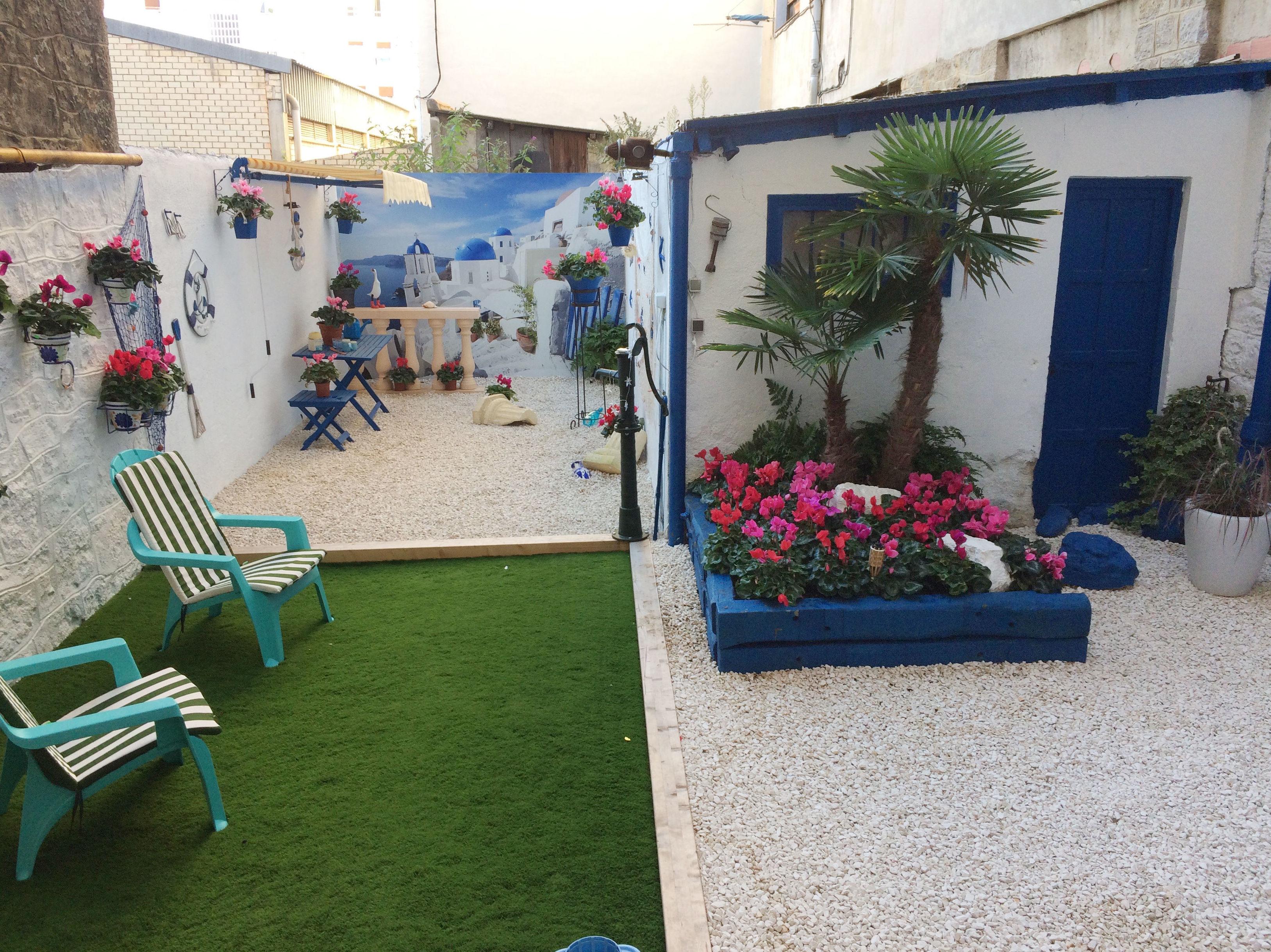Diseño de patios