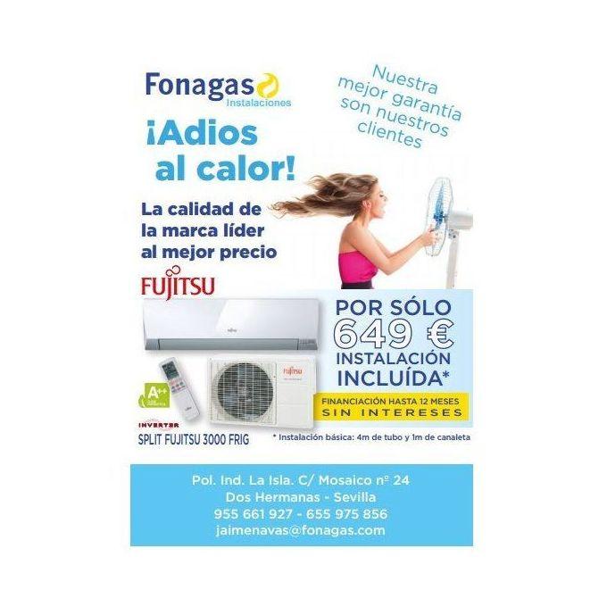 Instalador aire acondicionado Fujitsu