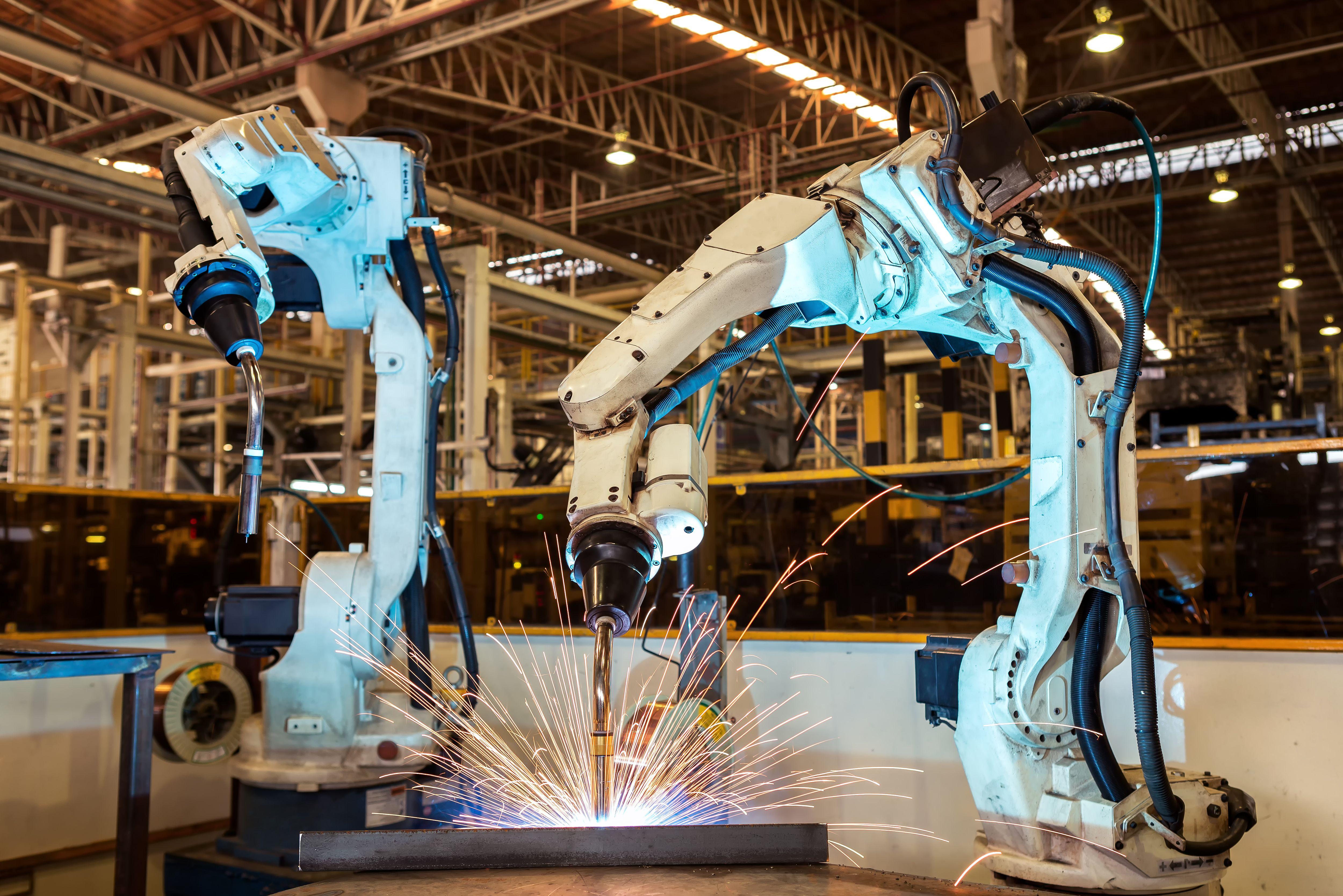 Robot automático de soldadura en Murcia