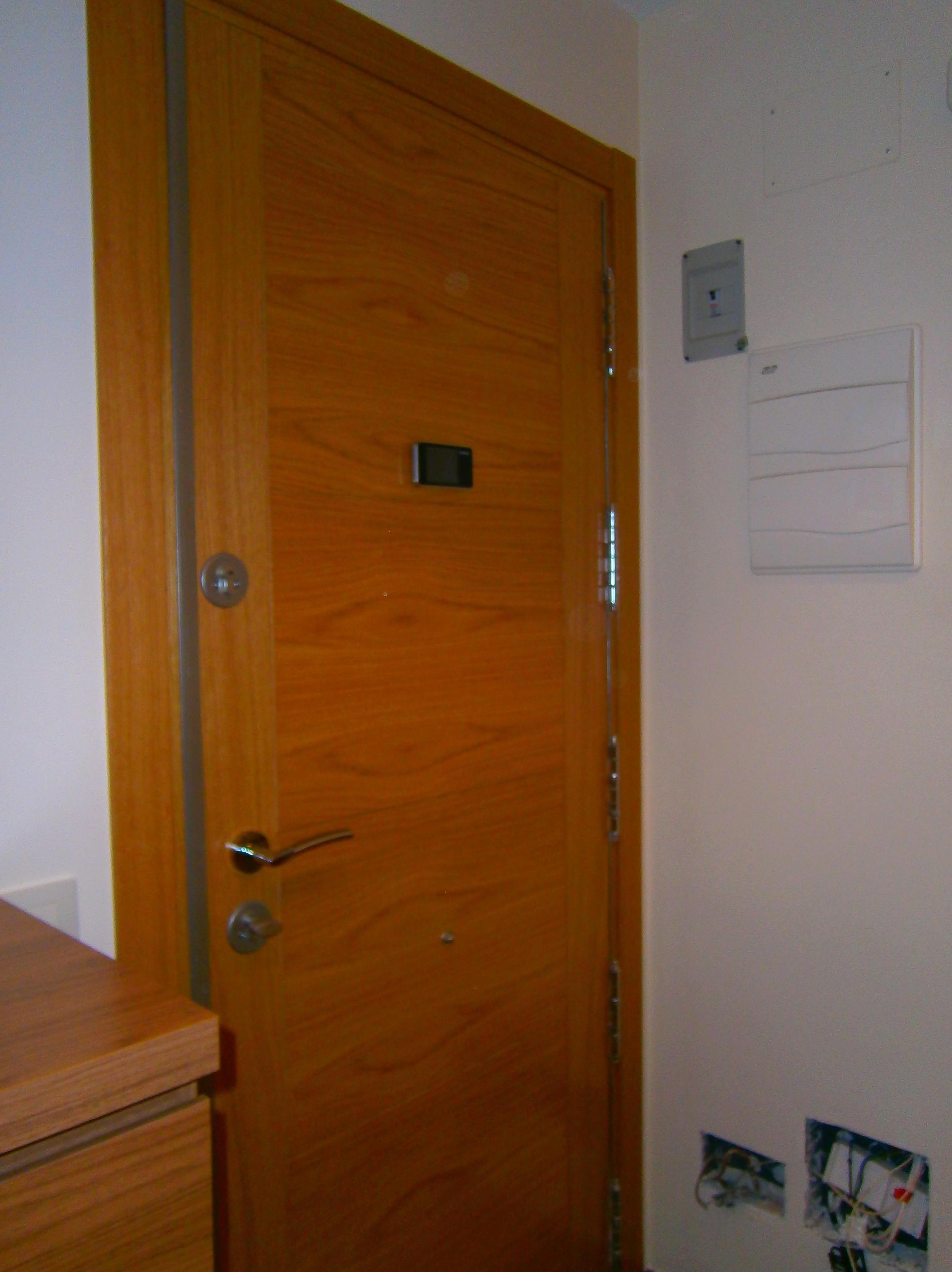 Puerta blindada