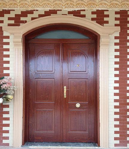 puerta doble acorazada